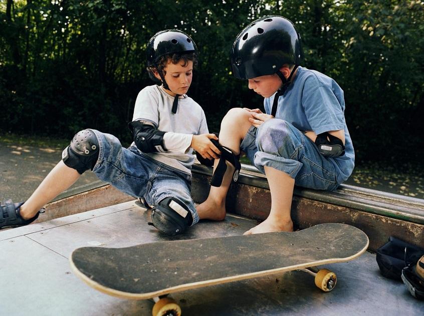 skateboarding-pads