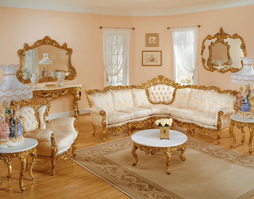 French Provincial Living Room