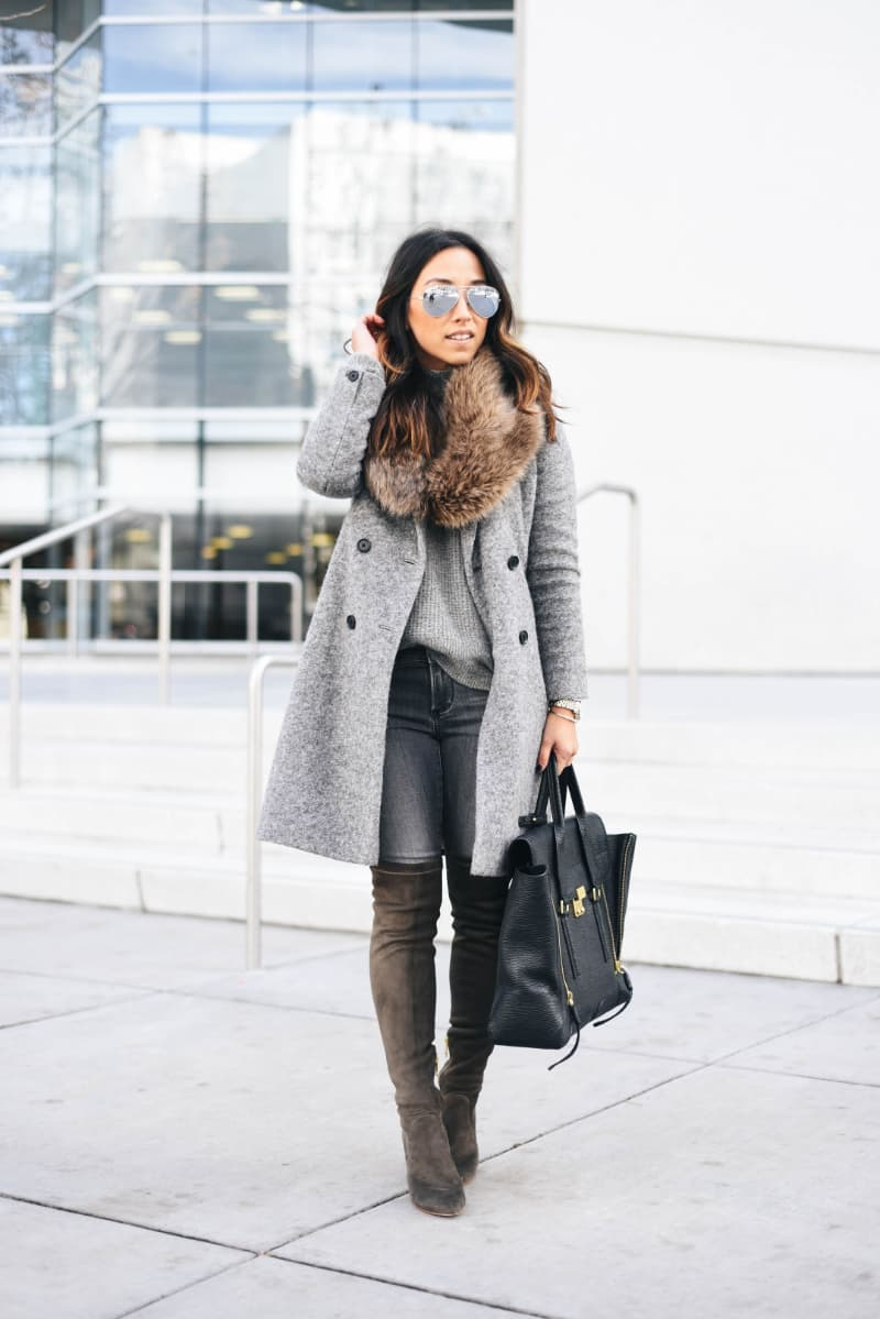 over the knee boots outfit