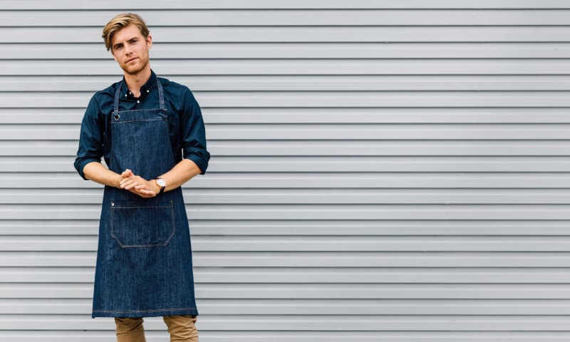adjustable bib apron