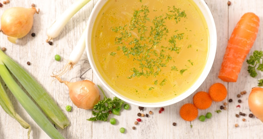 organic bone broth soup