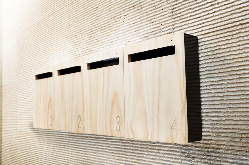 Javi wall mounted letterbox