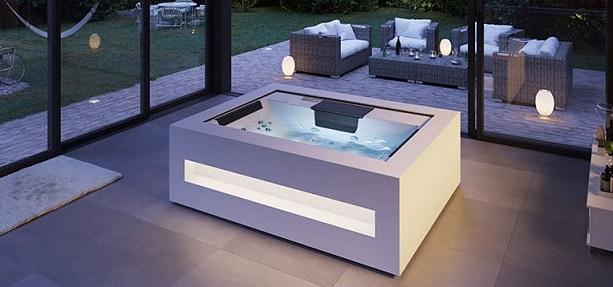 Modern hot tubs