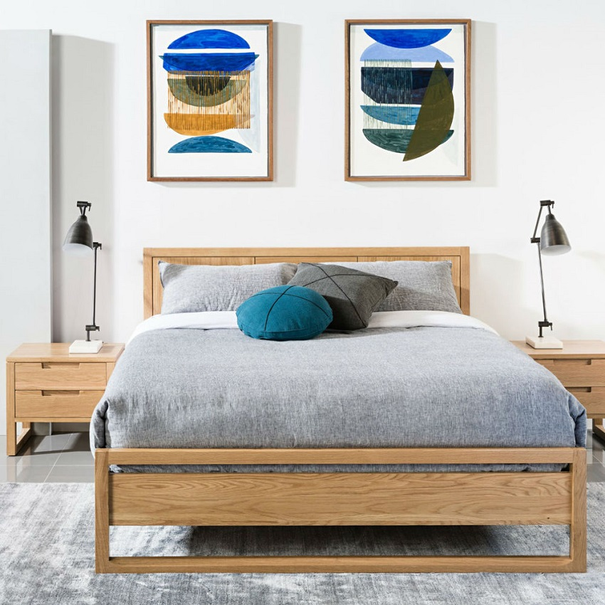Scandinavian design bedframes 2
