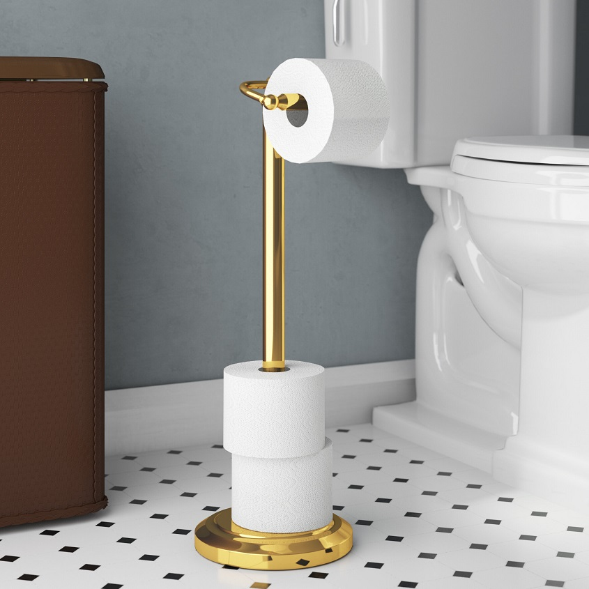 stylish toilet paper holder