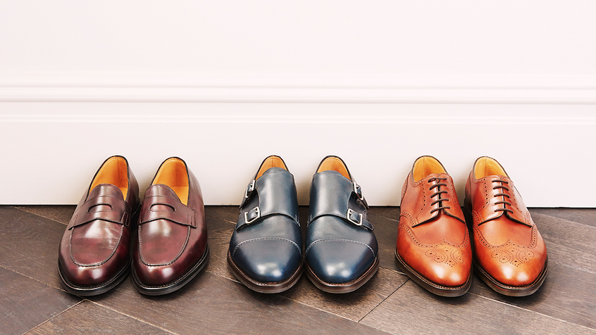 different style of oxfords