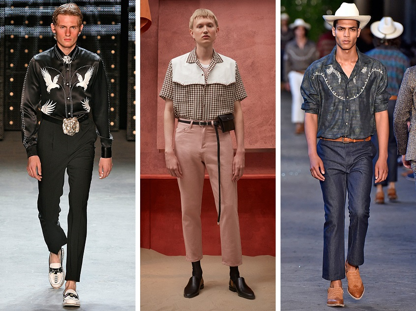 western style shirts mens