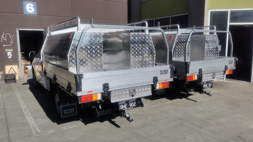 ute canopy tray toolboxes